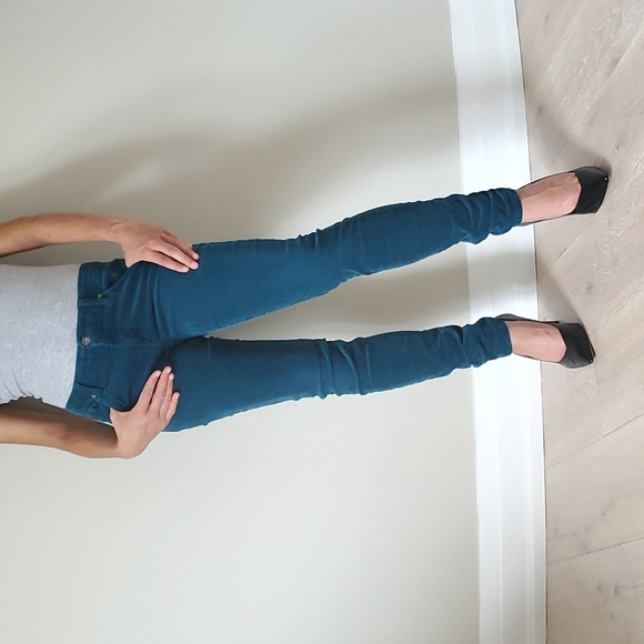 7 for All Mankind corduroy skinny jeans